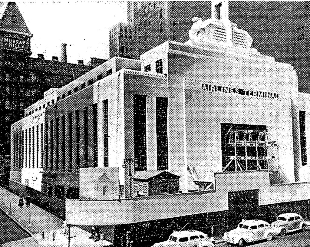 Vanished new york city art deco the airlines terminal for Deco new york