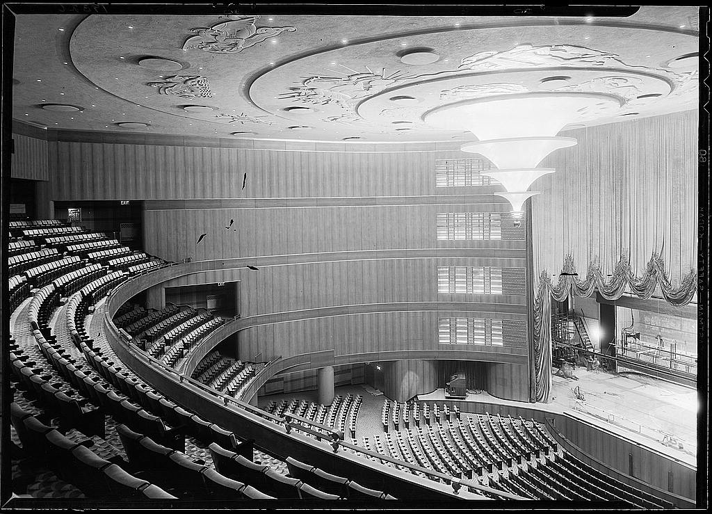 R K O Roxy Center Theatre Vanished Nyc Art Deco Part 2