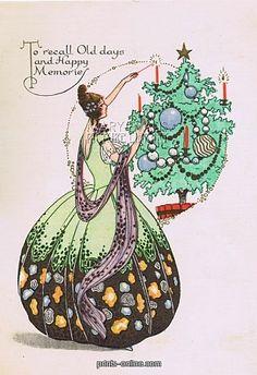 Merry Deco Christmas Cards