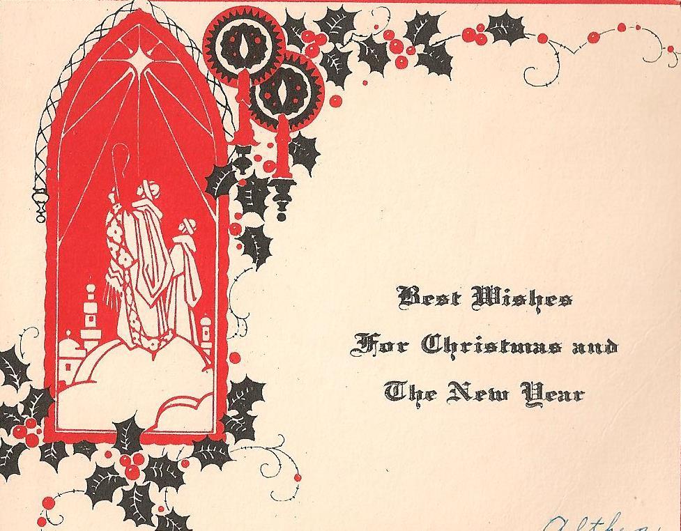 Merry Deco Christmas Cards!