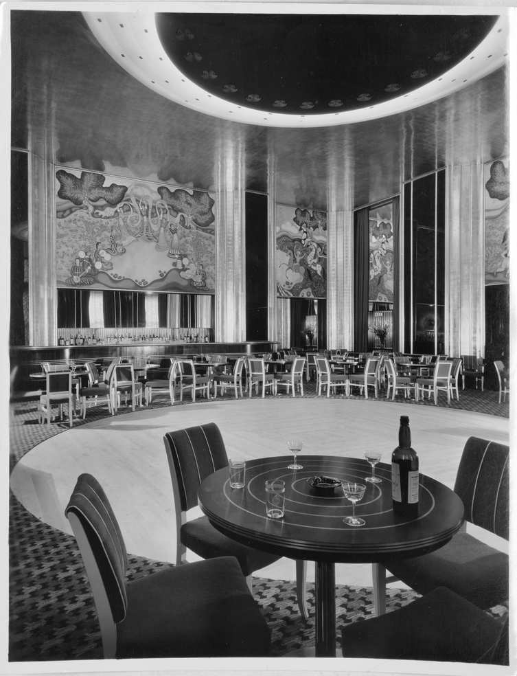 Vanished New York City Art Deco The Persian Room Of The