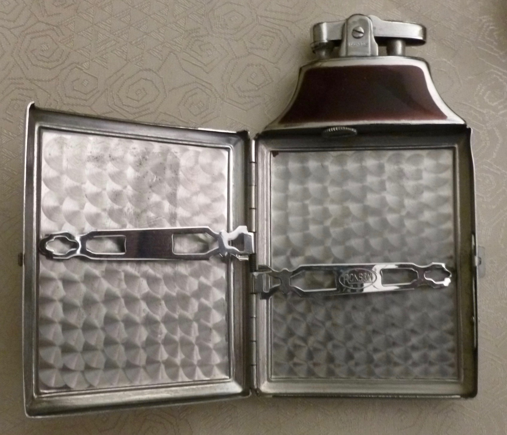Ronson Art Deco Style Lighters From The 1930s From My Collection